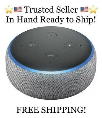 Echo Dot (3rd Gen) - Smart speaker with Alexa - Gray