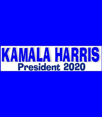 Kamala Harris President 2020  Buy 2 Get 1 Free  Free Shipping