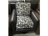 DFS Bellini Swivel Accent Chair