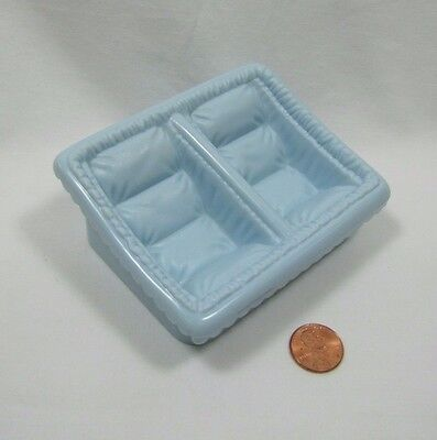 PLAYSKOOL Dollhouse TWIN BABY Pram Stroller Insert BLUE CARRIER Can use separate, used for sale  Shipping to India