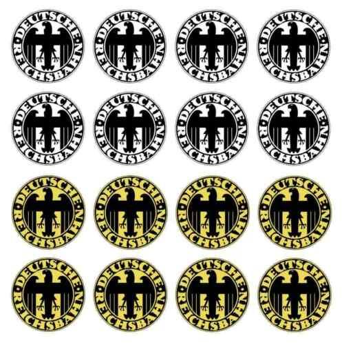 16teil. Stickers Set German Reichsbahn 1920 Piko LGB G Gauge Decal 011