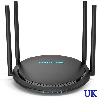 WAVLINK AC1200 Wireless TouchLink Dual Band Gigabit Ethernet Wi-Fi Router Extend