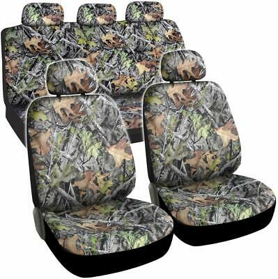 Camo Seat Covers for Truck Car SUV - Camouflage Auto Protectors Set  Heavy Duty Set Isuzu Hombre Truck