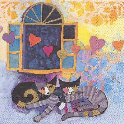 Fliese Katzen Kachel Geschenk Bild Deko Cats Rosina Wachtmeister 10