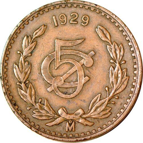Mexico 5 Centavos, 1929 VF  K10113