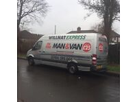 RELIABLE MAN AND VAN FROM £25 NO HIDDEN CHARGES