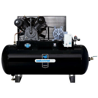 Industrial Air 230v 10 Hp 120 Gal. Aosmith Air Compressor Ih9919910 New