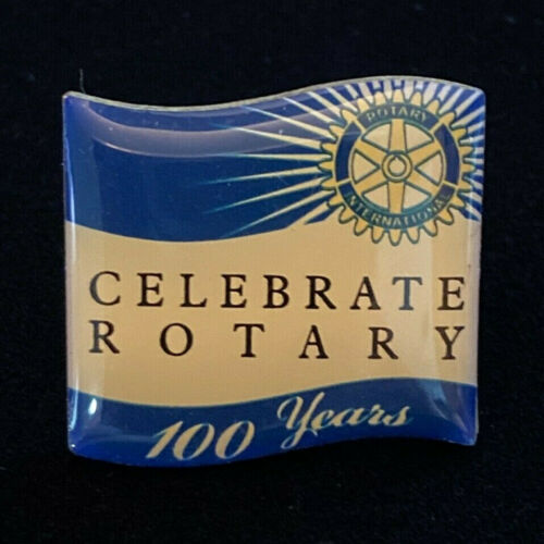 Rotary International Pin CELEBRATE ROTARY 100 YEARS 2004-05 Theme