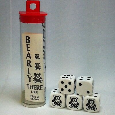 Bearly There Bear Dice Game