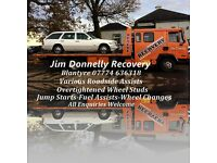 Jim Donnelly Car & Van Breakdown Recovery Services Blantyre/Vehicle Transporters-Roadside Assists