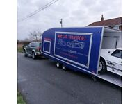 Enclosed Car Transport/Vehicle Recovery