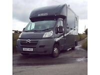 3.5t Citroen Relay Horsebox