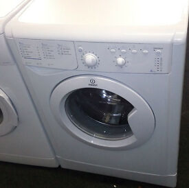 Z166 white indesit 6kg 1200spin washing machine comes with warranty can be delivered or collected