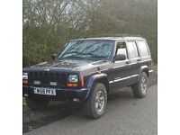 Jeep Cherokee Orvis XJ 4.0 lpg low mileage