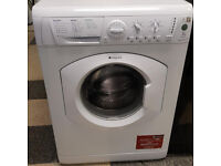 a758 white hotpoint 7kg 1300spin washing machine comes with warranty can be delivered or collected