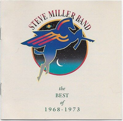 The Best of 1968-1973 by Steve Miller Band (Guitar) CD 1990