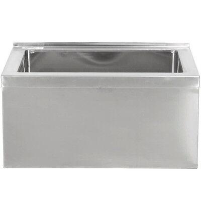 28 X 20 12 Stainless Steel Floor Mop Bucket 33 Sink Commercial Utility Drain