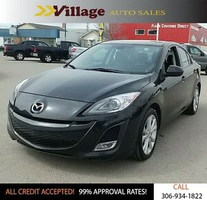 2011 Mazda Mazda3 GT Low Kilometers, Leather Interior, Heated...