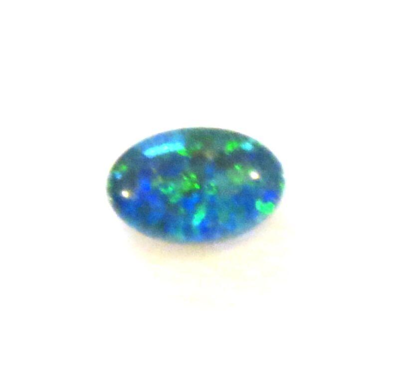 Opal Triplet 20mm x 15mm Oval Cabochon Cut Gem Gemstone