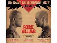 Robbie Williams Entertainment Show Tickets