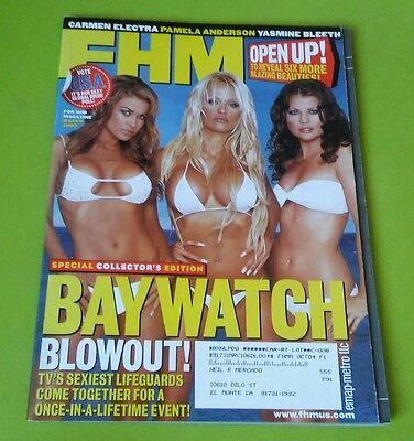PAM ANDERSON 2003 FHM magazine BAYWATCH Yasmine Electra