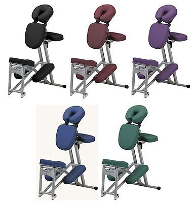 Stronglite Ergo-Pro II Portable Massage Chair Package w/ Case 5 COLOR CHOICE NEW