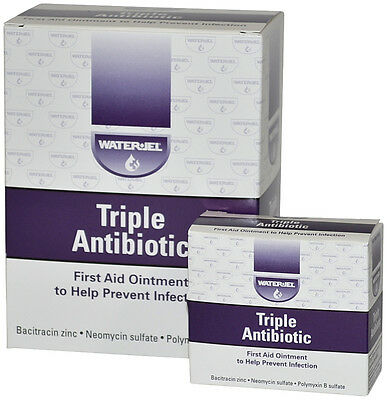 Water Jel Technologies Triple Antibiotic Ointment 25 Per Box  5 Boxes    Ms60786