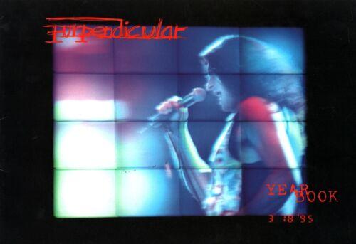 DEEP PURPLE 1996 PURPENDICULAR TOUR PROGRAM BOOK BOOKLET / STEVE MORSE / NMT