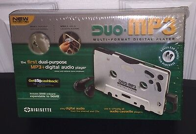 NEW! DIGISETTE DIGI SETTE AR 100 MP3 CASSETTE ADAPTER PLAYER For CLASSIC CARS for sale  Shipping to India