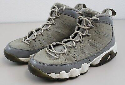 Air Jordan 9 retro cool grey basketball shoes size 6Y #302359 015 Youth Kids