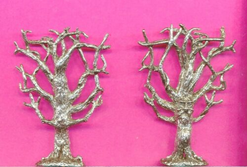 Pewter Haunted Tree With A Face Figurine