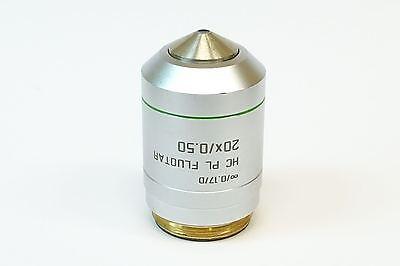 Leica Hc Pl Fluotar 20x0.50 0.17d Microscope Objective Pn 506503