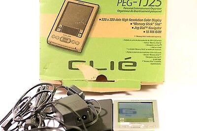 Sony CLIE PEG-TJ25 PDA + Box & Manual
