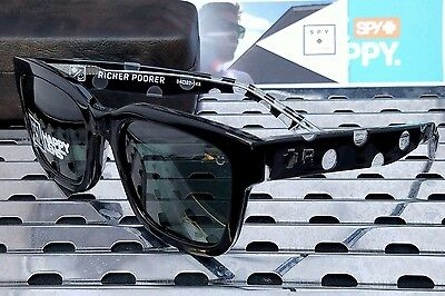 New Spy 183240293863 TRANCAS Sunglasses Black Richer Poorer /Happy Gray-Green
