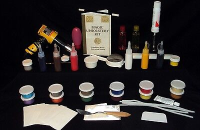 *Magic Fixit Mega-Combo Kit : Repair Vinyl-Leather-Fabric-Velour-Carpet !