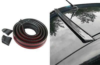 Für viele Fahrzeuge Dachspoiler Heckspoiler Spoiler Blende Lippe Carbon Schwarz