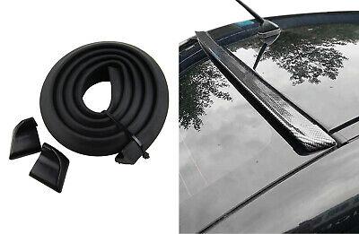 Für viele Fahrzeuge Dachspoiler Heckspoiler Spoiler Blende Lippe in Schwarz Matt