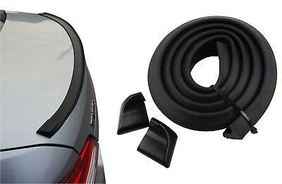 Kofferraumspoiler Heckspoiler Spoiler Lippe in Schwarz Matt für viele Fahrzeuge