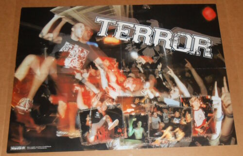 Terror Poster Original Promo 18x24 Jonathan Buske Hardcore Punk RARE