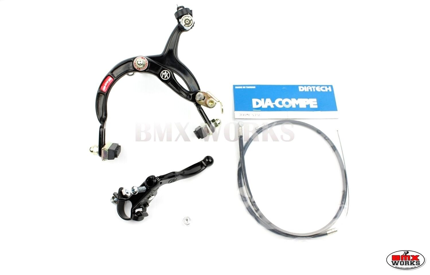 Dark Blue Brake Set MX121 Tech 3 Genuine Dia-Compe MX1000