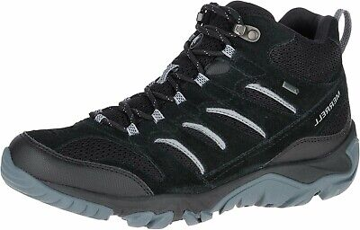 -  LADIES MERRELL WHITE PINE MID VENT GTX TRAIL WALKING LACE UP BOOTS SIZE J09554