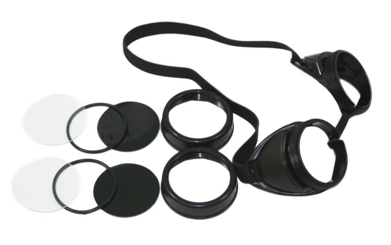 1 pr Welding & Cutting Safety Eye Cup Goggles Black w/vents STEAMPUNK GOGGLES