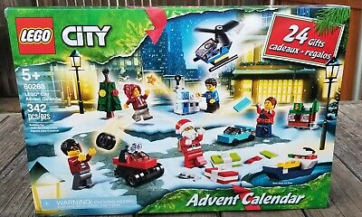 Lego City 60268 Advent Calendar Building Set - 342 Pieces !! NEW