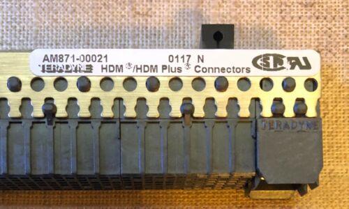 TERADYNE AM871-00021 HDM Daughtercard Connector   **NEW**