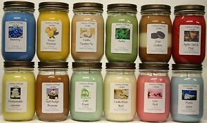 LOT-OF-12-16-OZ-SOY-CANDLES-MIXED-LOT