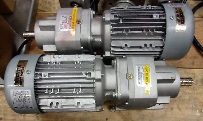 Nord 1.5 Hp Drive Motor And Gearbox