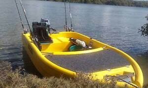 10 ft Piranha poly molded 8hp yamaha motor and tank Brisbane City Brisbane North West Preview