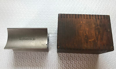 Brown Sharpe 559 Toolmakers Surface Plate Square With Wooden Case