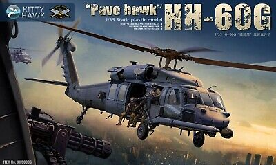 KH50006 Kitty Hawk 1/35 HH-60G Pavehawk w/ 2 pilot figures Helicopter Model Kit Hh 60g Helicopter