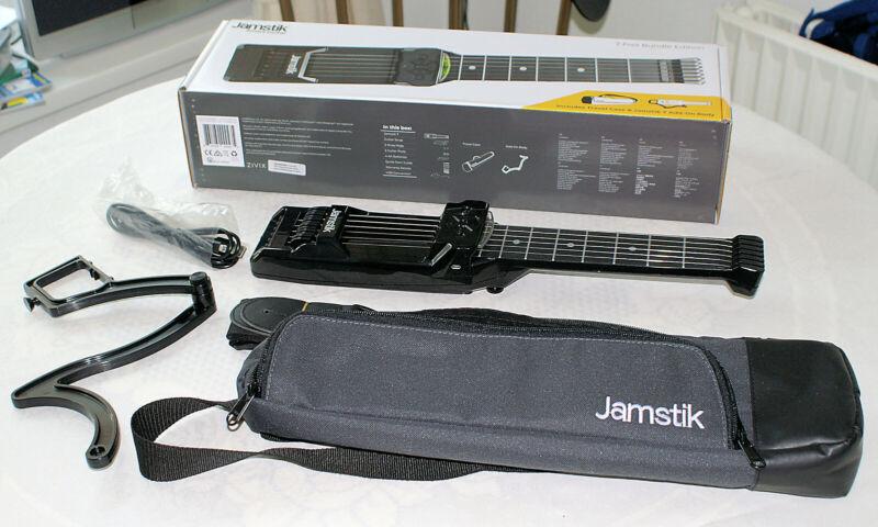Jamstik 7 Bluetooth guitar (can be Used As A MIDI Guitar Eg With GarageBand)